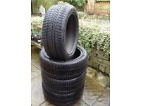 4 x Winter tyres for SUV. Pirelli Scorpion 255/45 R20XL 105V. Nearly new. Excellent bargain.