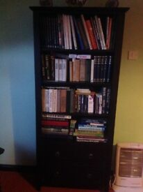 Bookcase with matching items