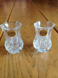 2 small vases