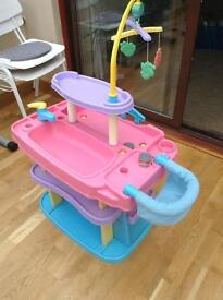 Free - toy baby care station