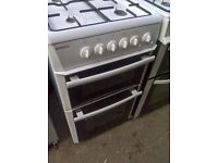 white gas cooker 50cm..cheap free delivery