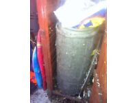 small dead shed and content free contains large metal air filter told was worth £200 new