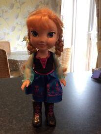 Disney Anna Doll from Disneyworld