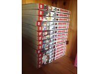 Vampire knight manga series vol 1-14