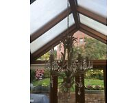 5 Candle Chandelier Light