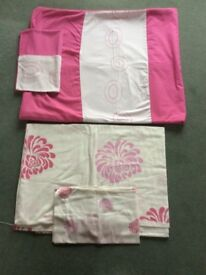 TWO SINGLE GIRLS QUILT COVERS