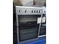 Beko silver 60cm electric cooker. £299 new/graded 12 month Gtee