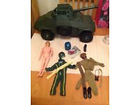 Vintage Action Man, Transformers, Star Wars (last 17), He-Man, Turtles, Masters of the Universe.