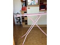 Ironing board, large size, pink