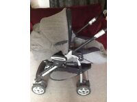 Mamas & Papas A3 Pramette Pushchair + Raincover
