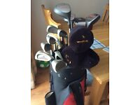 Ladies Golf Clubs - full set with bag