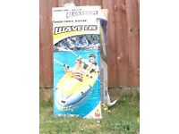 Inflatable 2 person Kayak with oars - used once - collection only