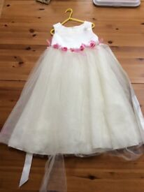 child's bridesmaids dress tinkerbell dress