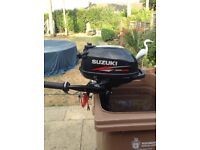 Suzuki DF2.5 petrol outboard motor