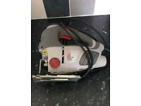 Electric jigsaw with laser guide