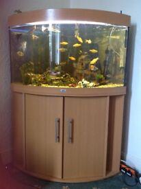 Jewel Fish Tank & Stand