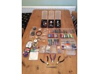 Jewllery Bead Making Kit, including beads, findings, charms, tools and more