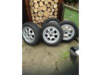 Mini one alloy wheels £110