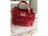 Cath Kidston red spot bag