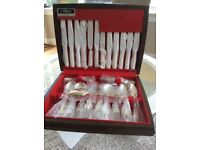 44 piece EPNS (A1) kings cutlery canteen