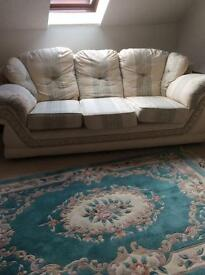 Three seater sofa in good condition,
