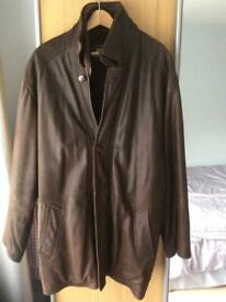 Men's Leather fully lined Brown