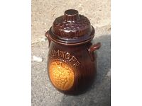 Pottery Rumtopf Container