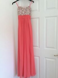 Prom Dress - Coral - Size 8 - 10