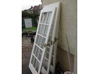 FREE 4 fully glazed doors