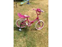 "Girls bike excellent condition 18"" Age 6-10 years"