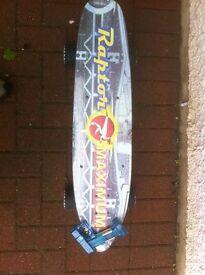 RAPTOR Maximum Electric Skateboard with Remote Control.