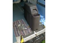 Renault master van storage compartment console for cab.