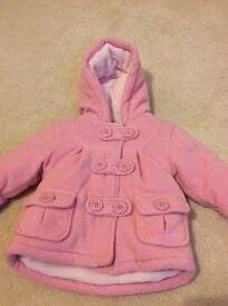 Miniclub padded coat with hood 3-6 months