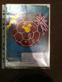 FOREST/ENGLAND PROGRAMMES