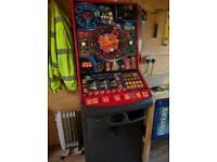 Man cave pub shed machine