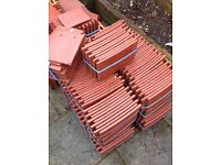 OLD ENGLISH DARK RED ROOF TILES