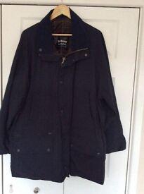 Men's Navy Barbour jacket