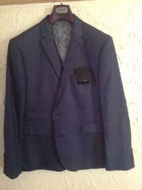 Brand new men's blue jacket