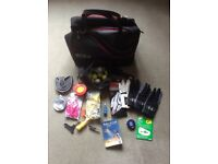 ECCO Golf Hold-all new condition with separate shoe compartment, comes with extras