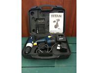 TITAN SF41120 12V DRILL DRIVER INC. CARRY CASE & ACCESSORIES - BARGAIN