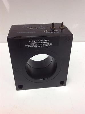 Westinghouse 3005a 50-400hz 600v Current Transformer 3486c98h03