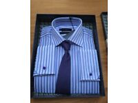 Next Men's Shirt & Tie Set