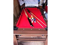 Pool Table / Air Hockey 6ft by 3ft .