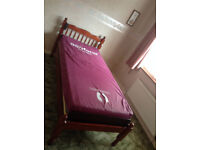 Electric 240V AC Single Bed plus mattress.