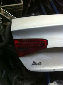 A4 audi breaking bootlid facelift