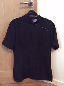 Ladies Black Tunic - Size 10