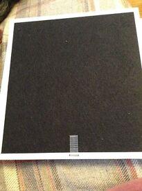 Recirculating hood filter CHA12. New . Boxed.