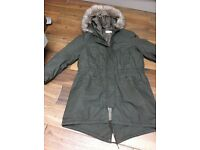Next to New parker coat 18