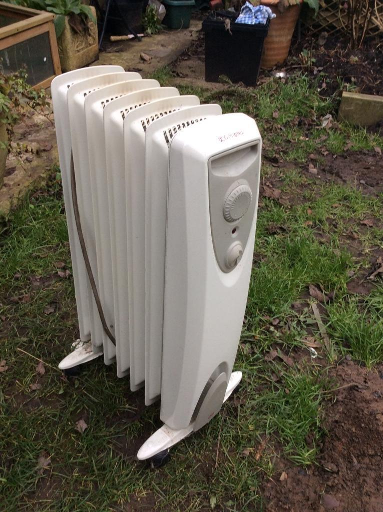 Oil filled radiator