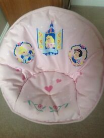 Disney Princess Foldable Padded Moon Chair